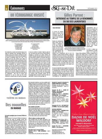 « Un témoignage inusité », Ski-se-dit, vol. 40, no 10, p. 26