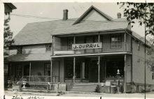 Épicerie J. Dupaul à Valcourt
