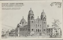 Église Saint-Sauveur pour les Syriens Catholique de Montréal Canada [image fixe]